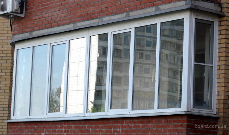 Остекление балконов в Днепропетровске