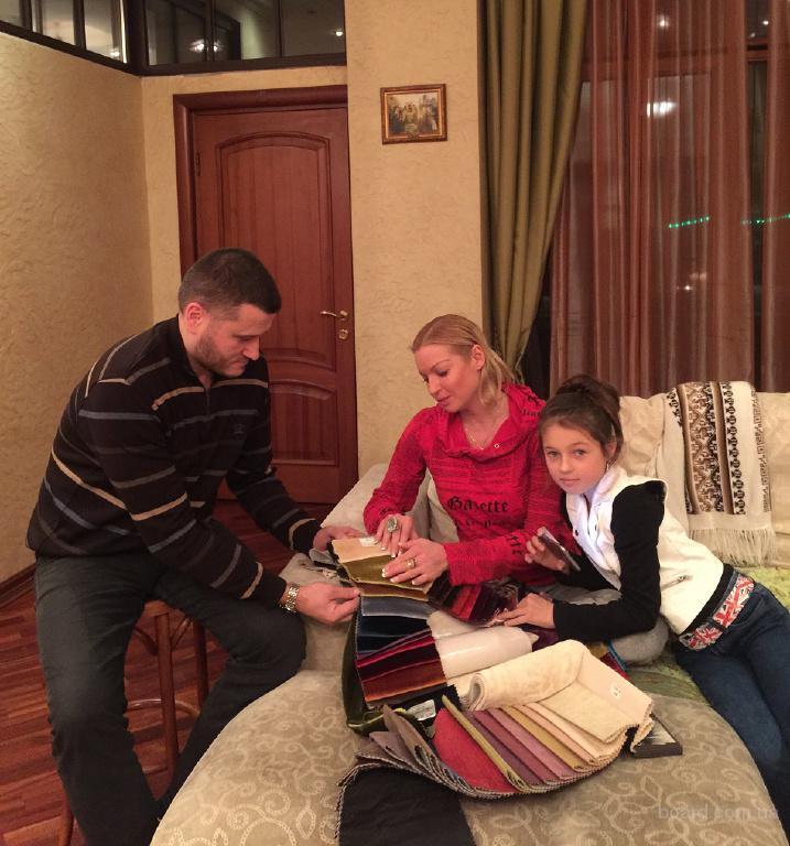 Перетяжка, обивка мягкой мебели в Москве и области с гарантией до 5 лет