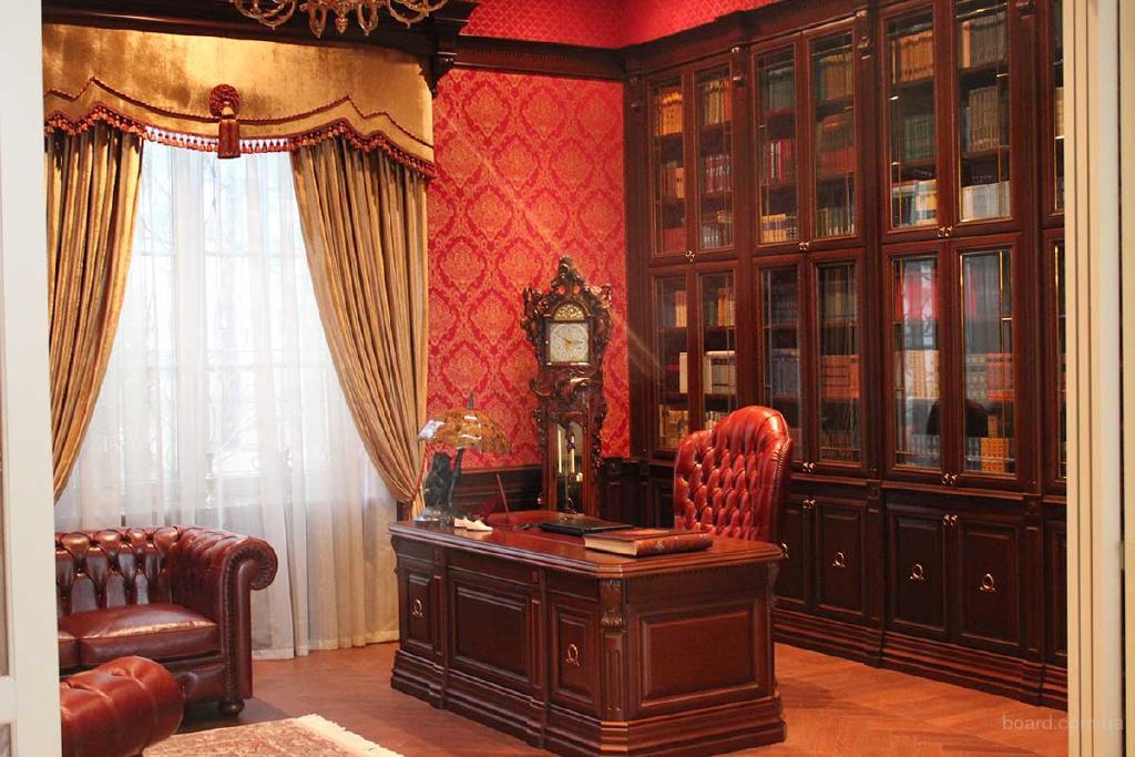 Купить или заказать мебель для кабинета в Украине