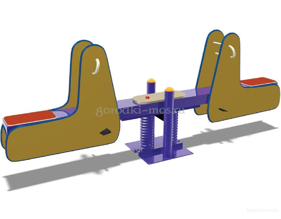Качалки на пружинах для детской площадки от ООО «Городки»