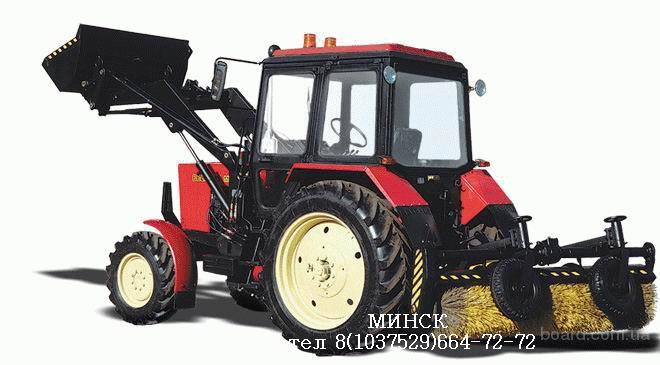 МУП-351 машина уборочно-погрузочная на базе МТЗ-82.1, г/п 1000 кг