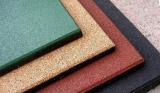 Производство резиновой плитки из резиновой крошки в Москве
