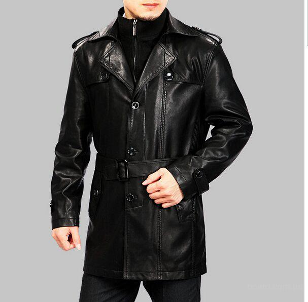 Популярная мужская одежда для зимы – дубленки и куртки