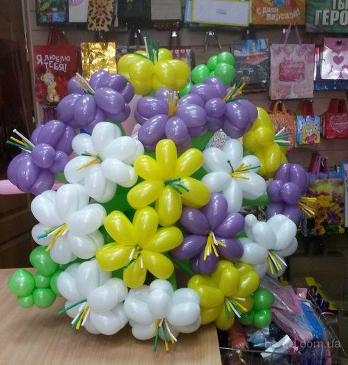 Воздушные шары в Воронеже для украшения помещения под проведение юбилея