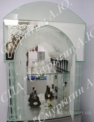 Изделия  из стекла и зеркала