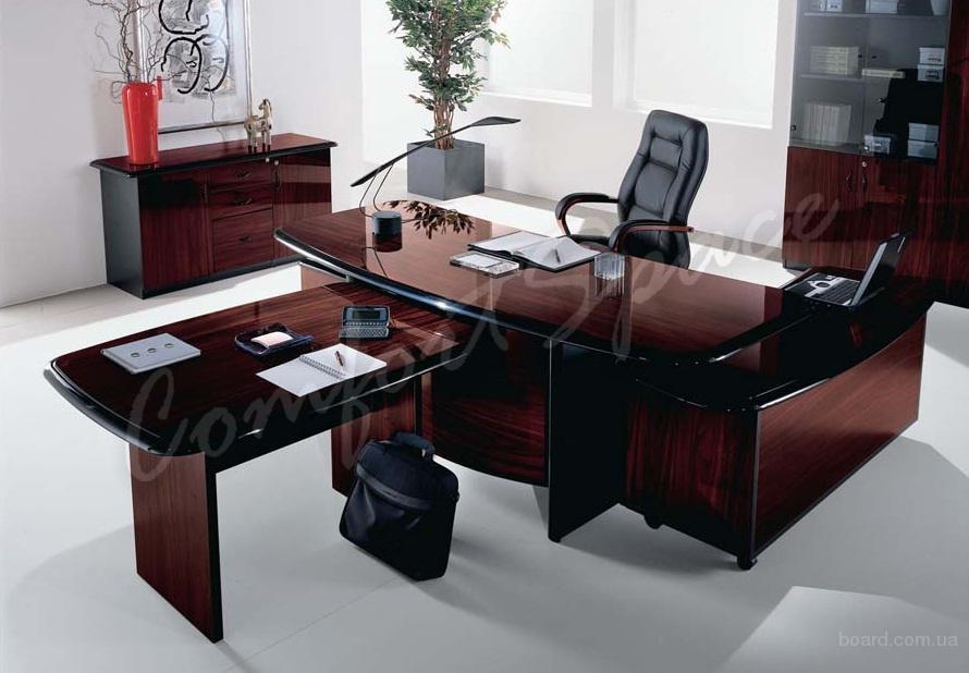 Мебель для руководителя – шпон или ДСП