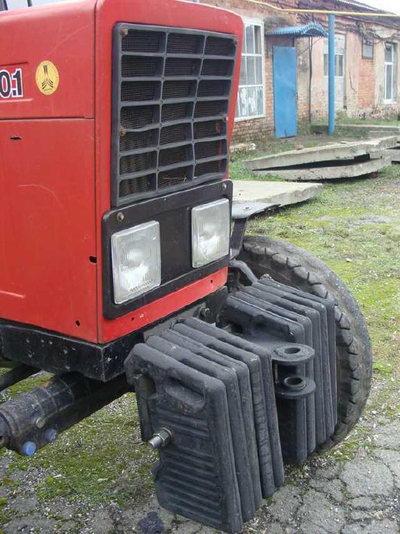 Комплект грузов противовеса (балансира) переднего МТЗ: 4.
