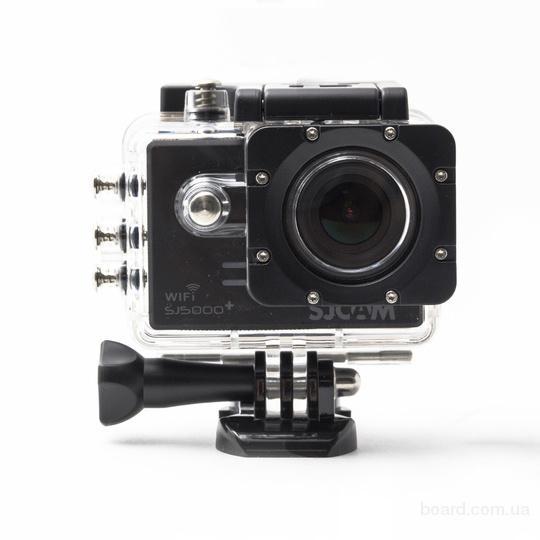 Экшн камера SJ5000 Plus + Карта памяти 8Гб в подарок в Украине