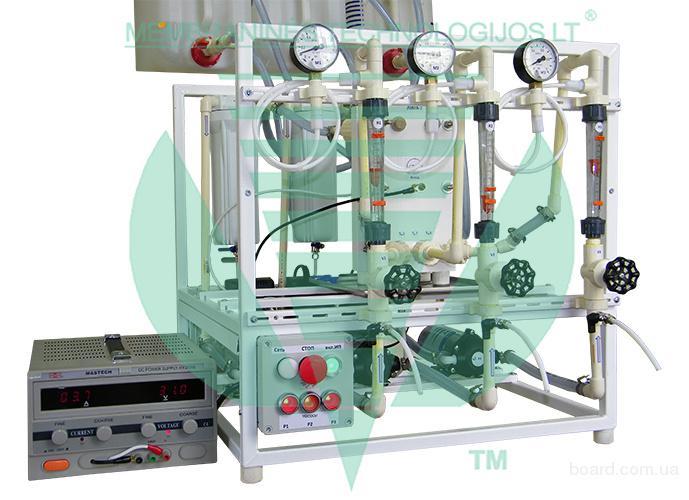 Лабораторная универсальная электродиализная устано
