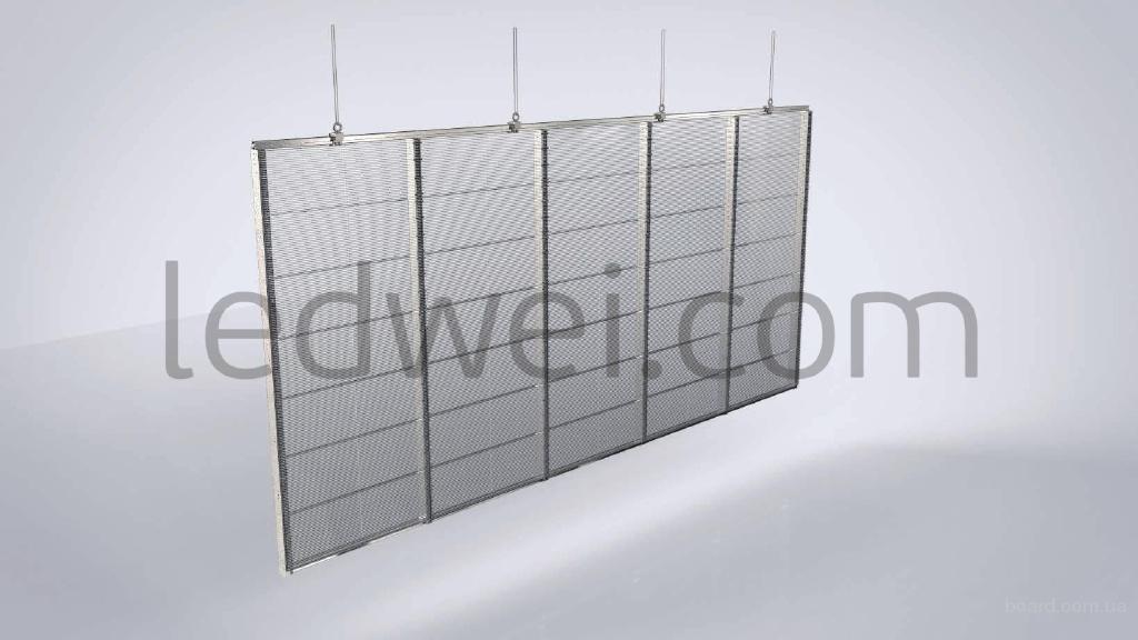 LED экраны, прозрачные и гибкие от Ledwei Technology Co, Ltd