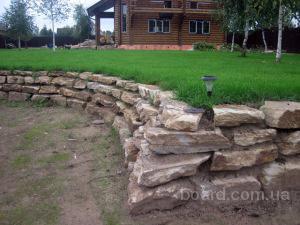 Камни для подпорных стен
