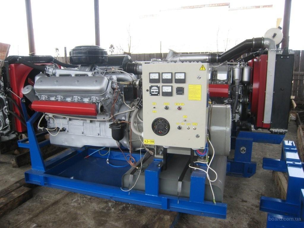 Дизель-генераторы 120 кВт контейнерного типа, ДЭС-120 контейнерного типа