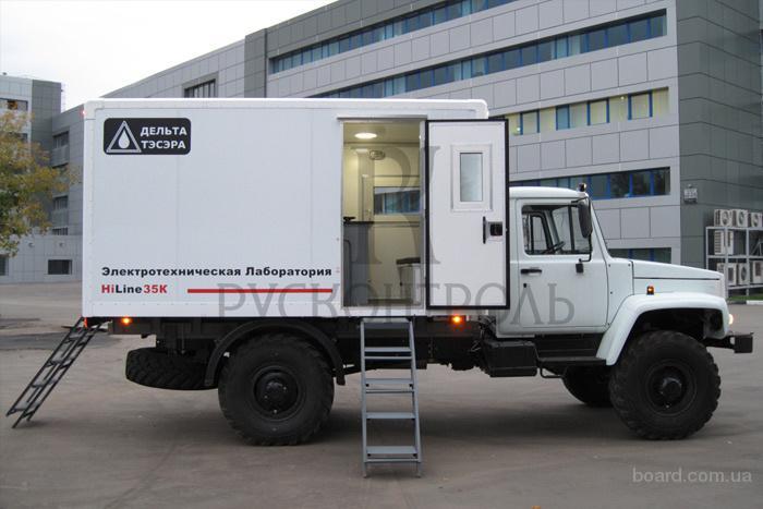 Электротехнические лаборатории передвижные от компании Русконтроль