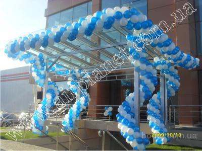 Воздушные шары Киев, украшение шарами, оформление