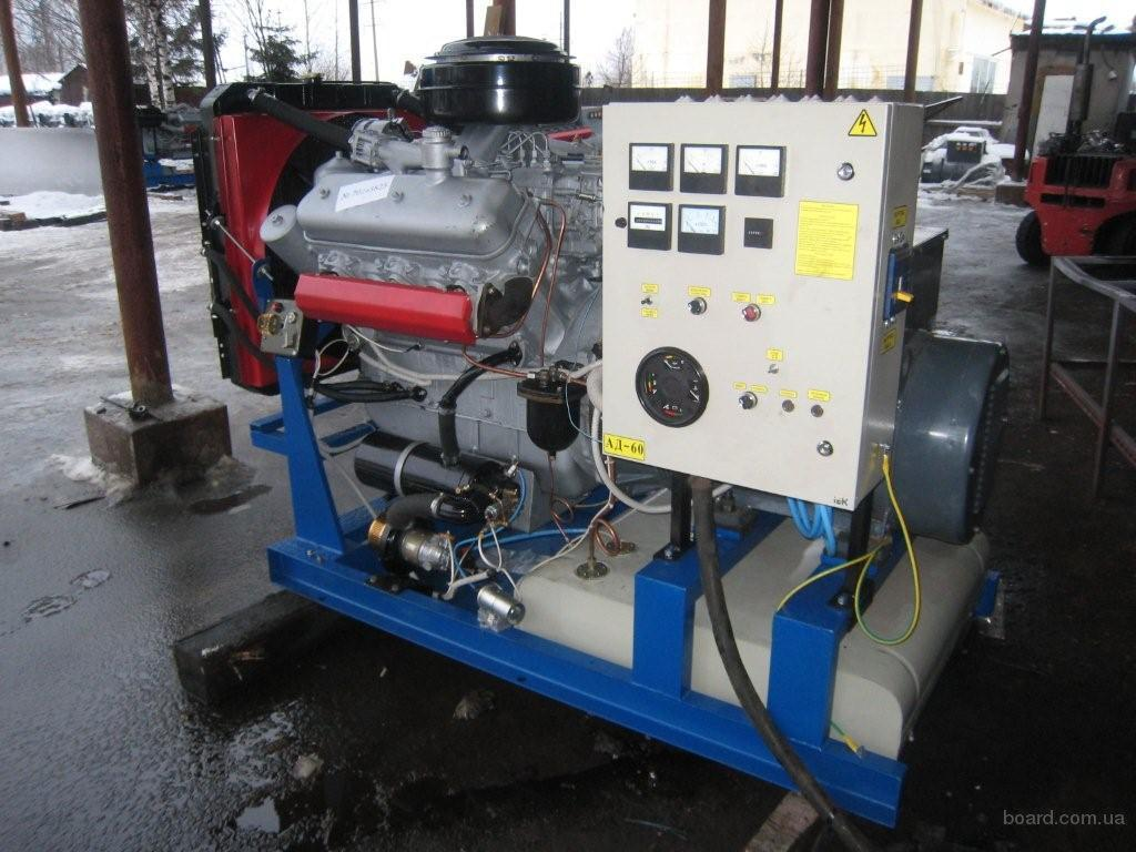 Дизель-генераторы 60 кВт контейнерного типа, ДЭС-60 контейнерного типа