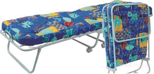 Раскладушки и раскладные кровати, заказ и доставка.  Кровать-тумба Юлия.