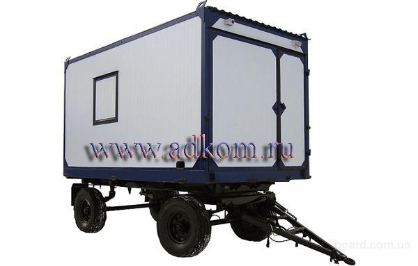 Резервные дизельные генераторы в кузове-фургоне