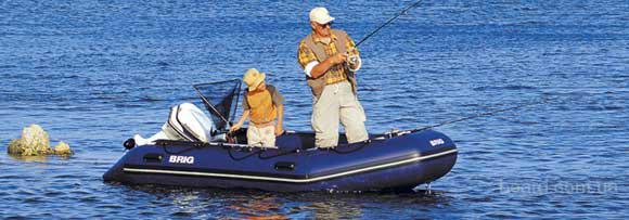 Надувная моторная лодка BALTIC B420