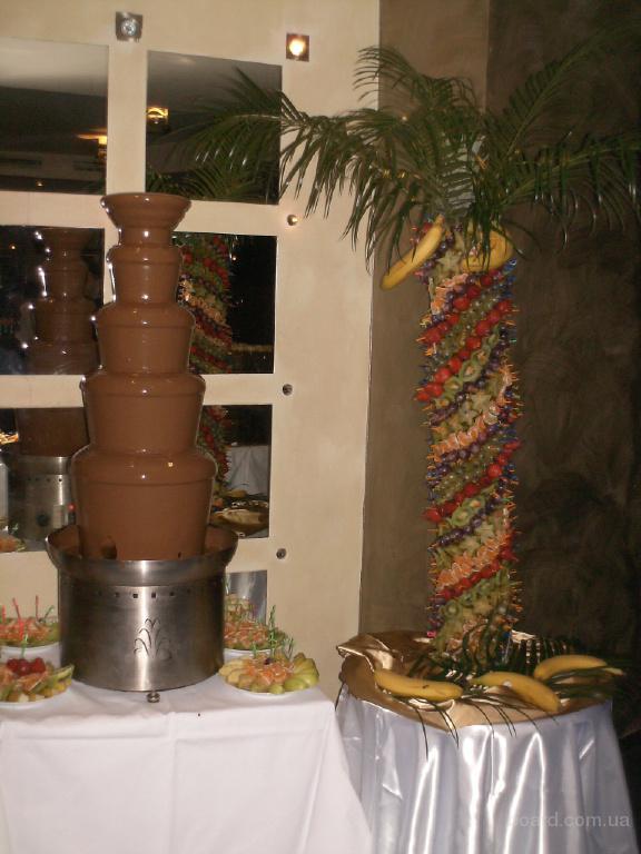 Шоколадный фонтан, фонтан для шоколада