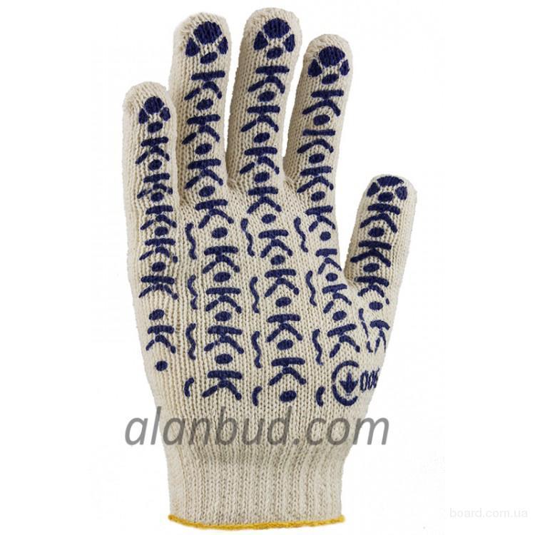 Перчатки рабочие оптом, рукавицы строительные от производителя MasterOK.