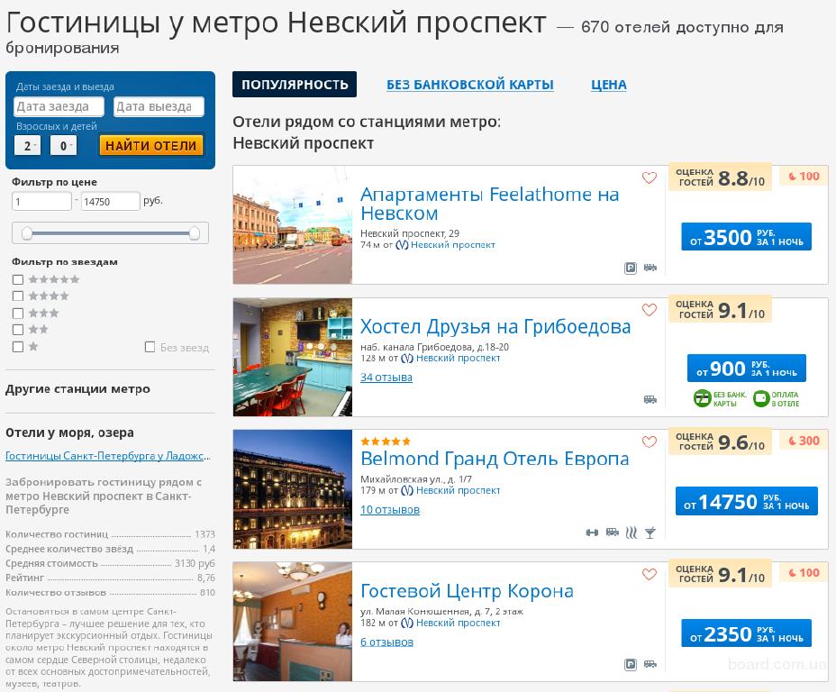 Первый раз в Питере? Пять причин выбрать отель у метро Невский проспект