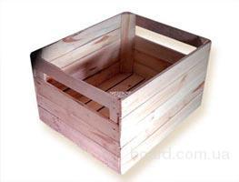 Предприятие реализует ящики деревянные для хранения и транспортировки сельскохозяйственной продукции.