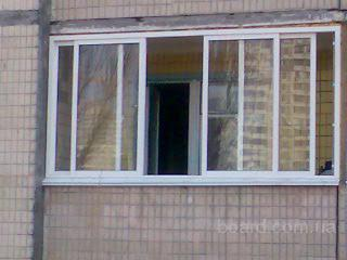 """Балконы """"под ключ"""", раздвижные окна, двери продам в киев, ук."""