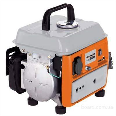 Однофазный бензиновый генератор (электростанция) EINHELL STE-850 воздушного охлаждения.