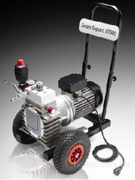 агрегаты окрасочные низкого и высокого давления - электрические, пневматические, с бензиновым привод