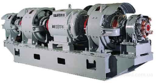 Агрегаты электромашинные предназначены для питания электродвигателей главных приводов экскаваторов по системе...