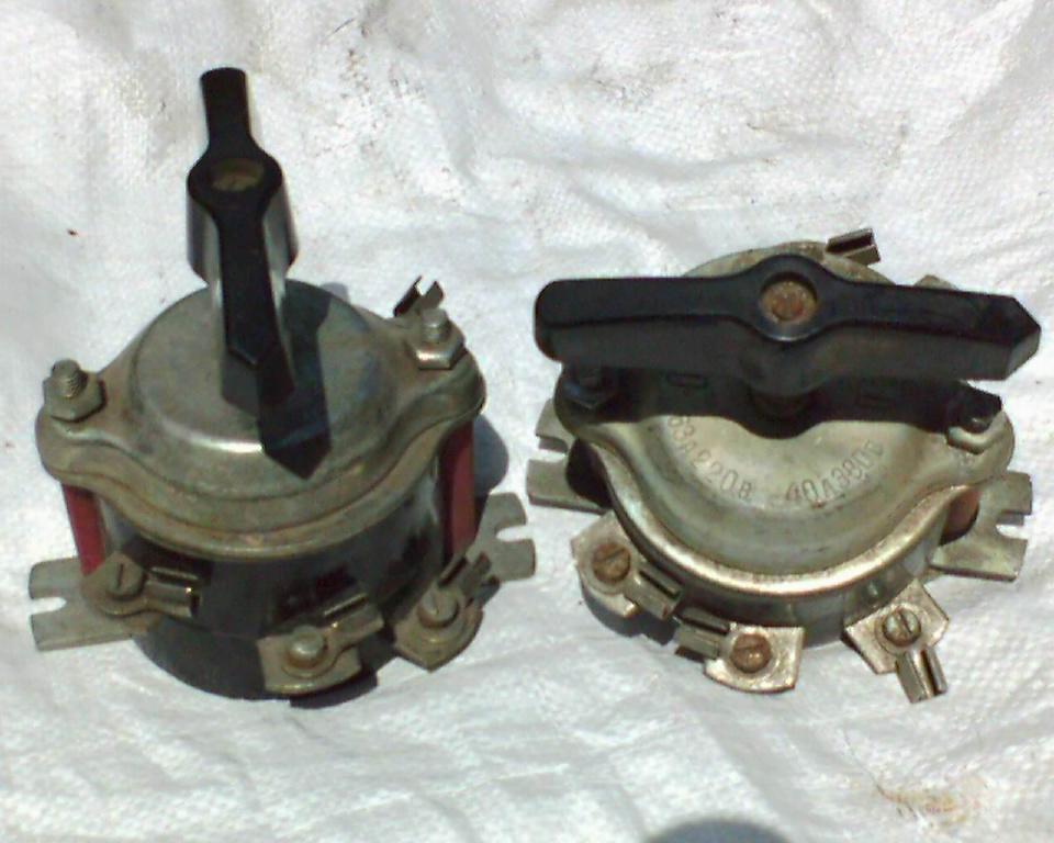 Пакетные выключатели ПВЗ-60
