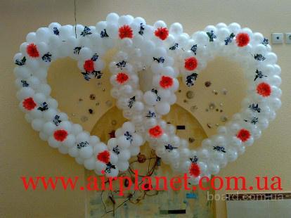 Воздушные шары, оформление шарами, подарки из воздушных шариков, доставка шаров  Киев, Вышгород, Ирпень, Буча, Бровары, Борисполь, Вишневое