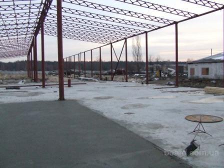 Строительство ангаров, складов в Черкассах.