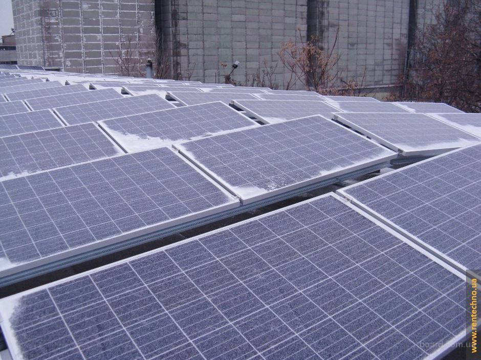 Топлива вообще не нужно – солнечные электростанции