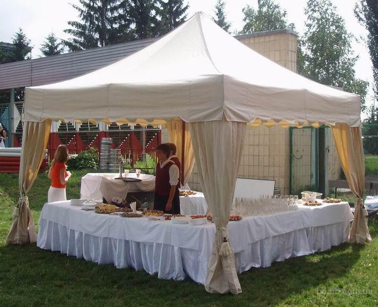 Аренда свадебных VIP- шатров