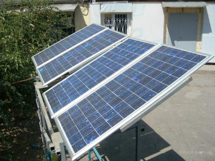 Автономная Солнечная Электростанция.