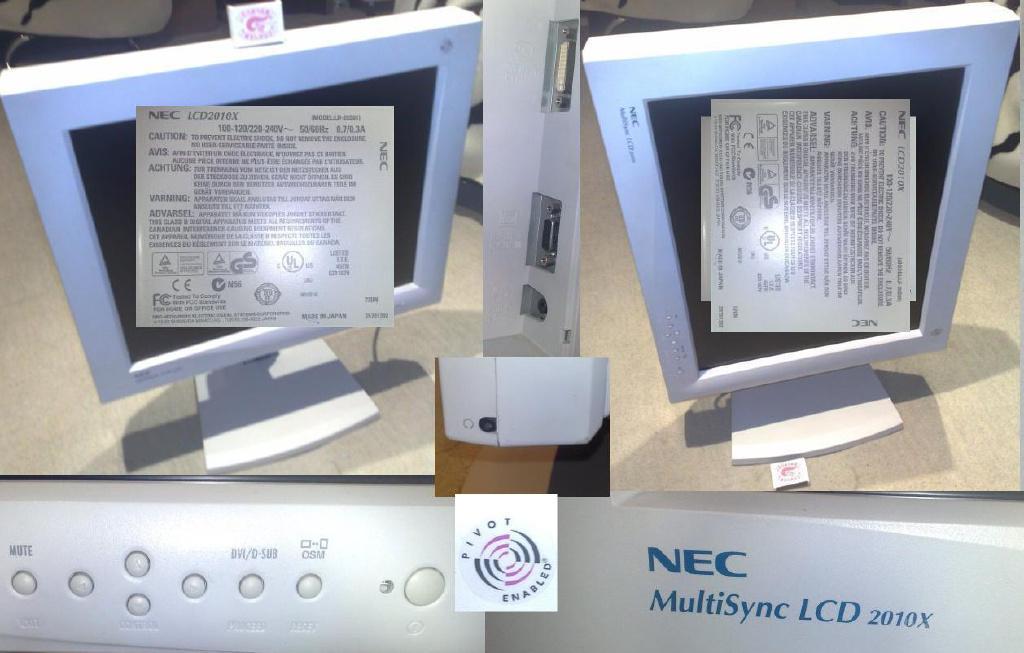 Жк-монитор nec multisinc lcd1970nx