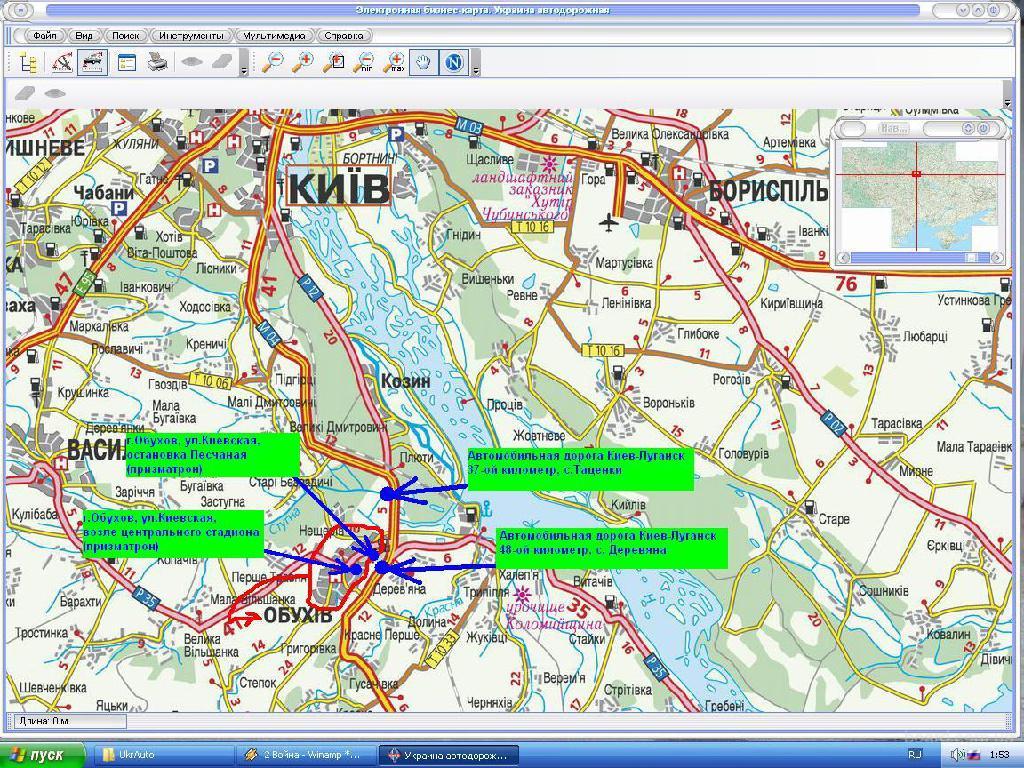 Карта где находится киевский