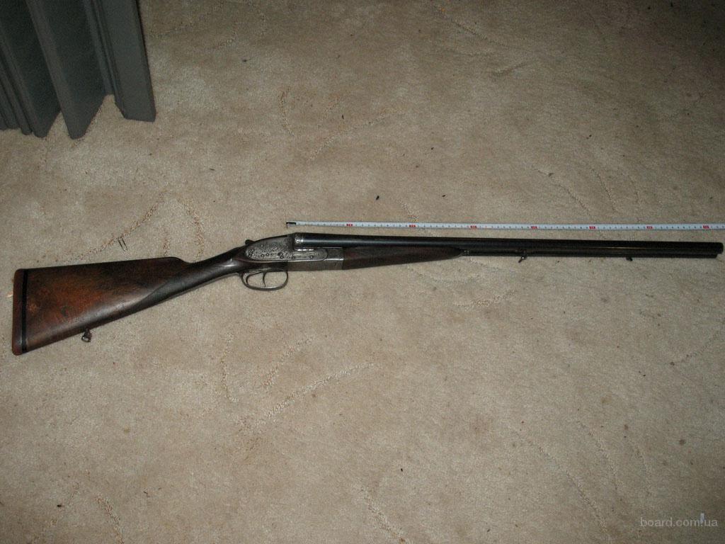 Продам гладкоствольное горизонтальное ружье.