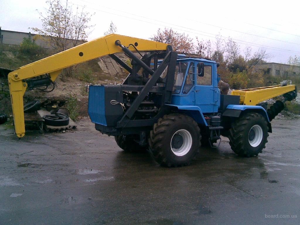 Трактор Беларус мтз 82.1 с барой и отвалом