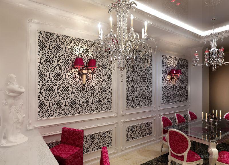 Столовой комнаты в классическом стиле