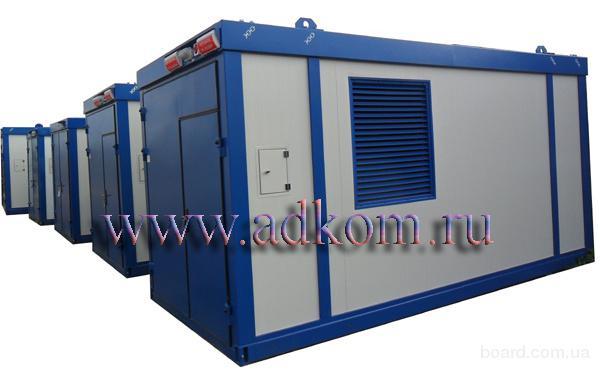 Дизельные электростанции ДЭС-200 кВт в блок-контейнере Север