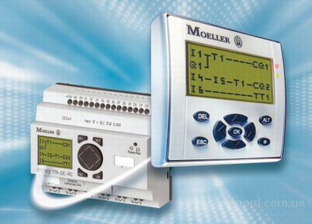 Программируемые реле EASY и MFD-Titan C 1998 года фирма Moeller выпускает программируемые реле различных серий под...