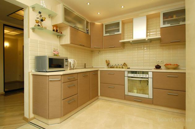 Мы гарантируем высокое качество проведения работ по сборке кухни и оперативность