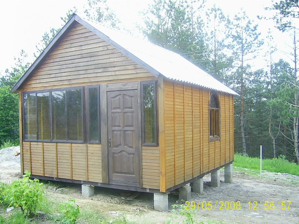 Дачный домик своими руками 5х5 92