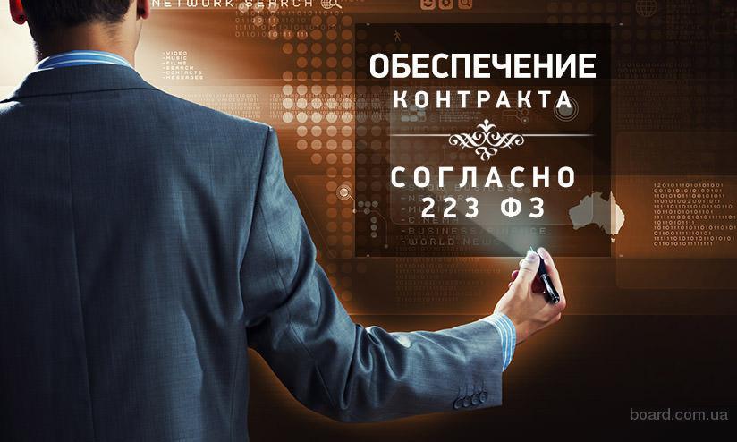 Обеспечение заявки на участие с корректировкой закона 223-ФЗ