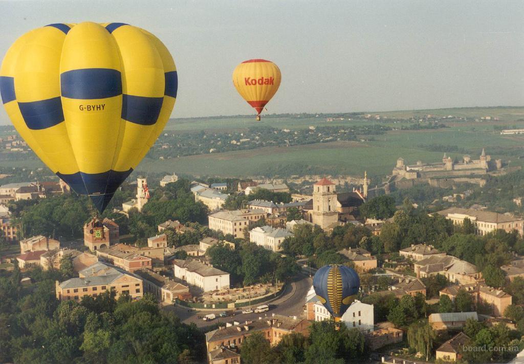 Полёт на воздушном шаре!
