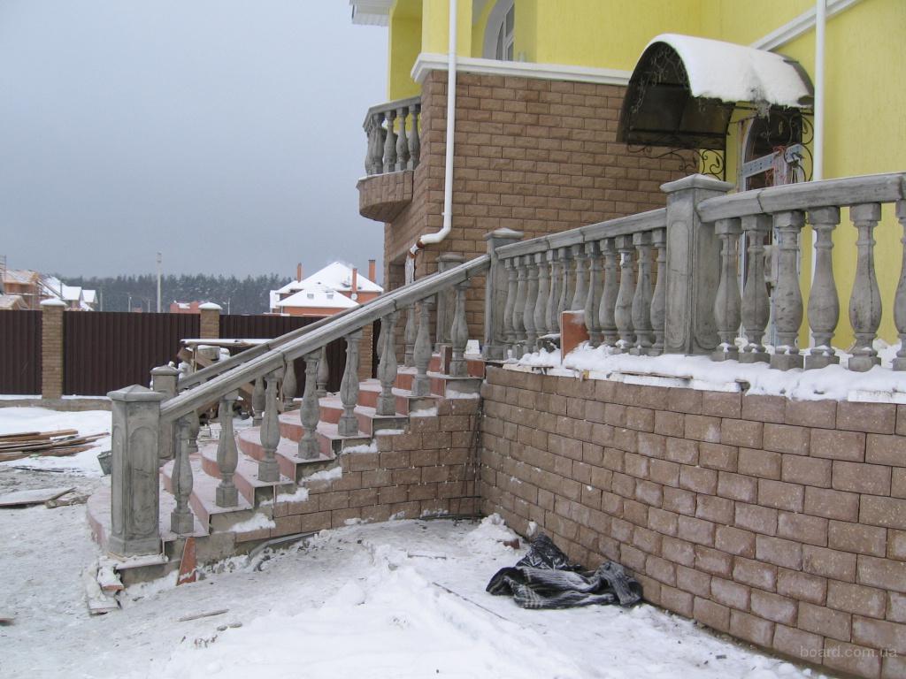 Лестничные и балконные ограждения предлагаю в киевская облас.