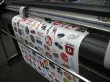 Печать наклеек на прозрачной пленке в Киеве