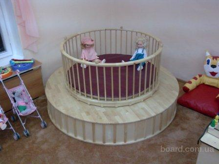 Круглые Вращающие манежи  для детских садов